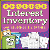 Reading Interest Inventory for Students AND Parents