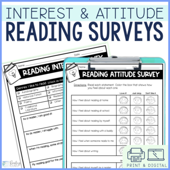 Reading Interest and Attitude Surveys