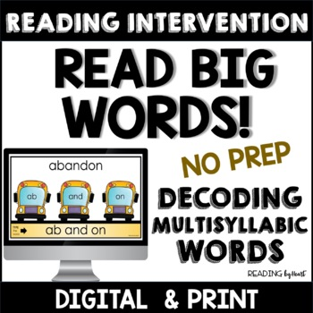 Reading Intervention: Advanced Decoding INDEPENDENT READING MAT