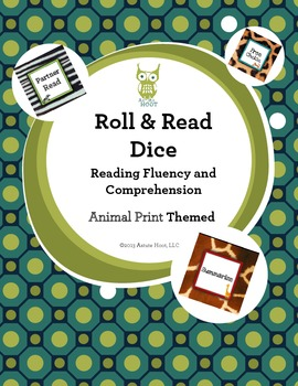 Reading Intervention Dice: Reading Fluency and Comprehensi