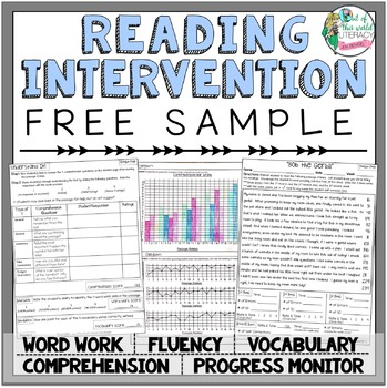 Reading Intervention Program: FREE SAMPLE