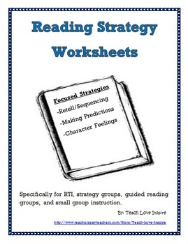 Reading Worksheets for use on any fiction book (3 focused