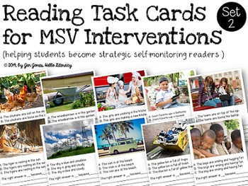 Reading Intervention Task Cards for Emerging & Non Self-Co