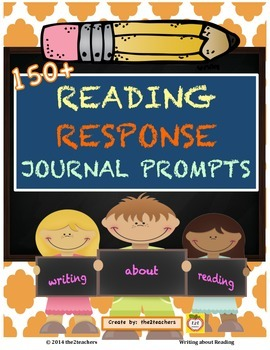 Reading Response Journal Prompts:  Writing About Reading
