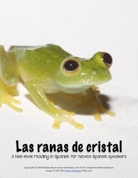 Reading: Las ranas de cristal