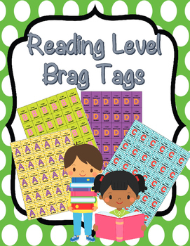 Reading Level Brag Tags