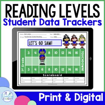Reading Level Data Graphs