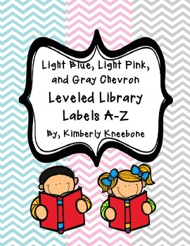 Reading Leveled Library Labels (A-Z) - Light Blue, Light P