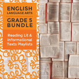 Reading Lit and Informational Texts Playlists: Complete Gr