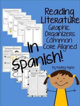Reading Literature Graphic Organizers Common Core Aligned