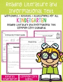 Reading: Literature & Informational Text Activities (Kinde
