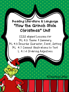 """Reading Literature & Language """"How the Grinch Stole Christ"""