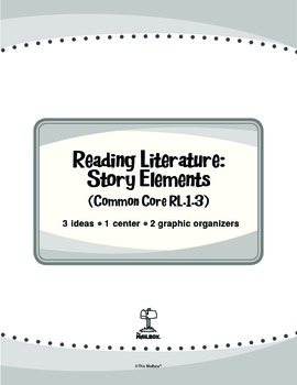 Reading Literature: Story Elements (Common Core RL.1.3)