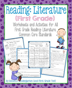 Reading: Literature Worksheets/Activities - First Grade Co