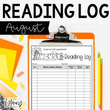 Reading Log {August}