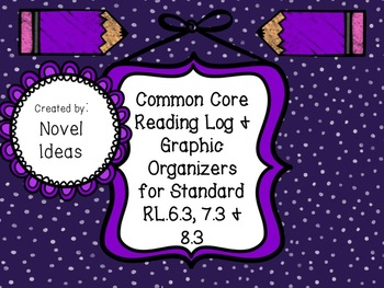 Standards Based Common Core Graphic Organizers & Log for R