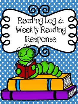 Reading Log and Weekly Reading Response FREEBIE