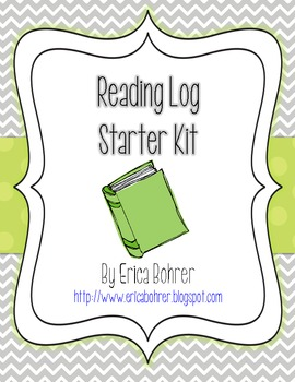 Reading Log Starter Kit - FREE