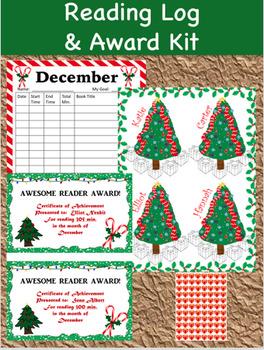 Reading Log and Award Kit December
