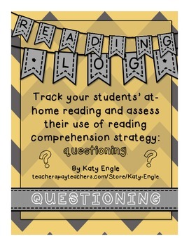 Reading Log focusing on Questioning