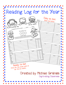 Reading Log for the Year