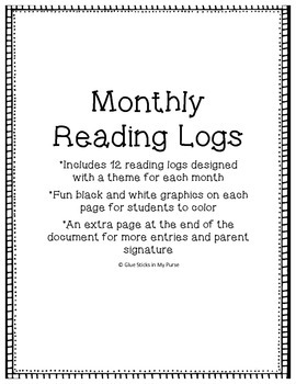 Reading Logs-12 Months