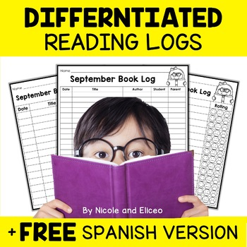 Beginner Reader Reading Logs