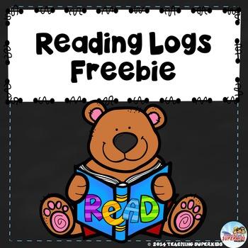Reading Logs Freebie