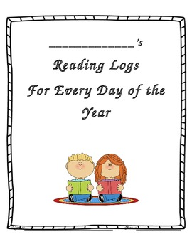 Reading Logs for Every Day of the Year