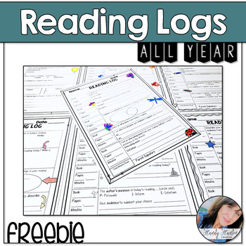 Reading Logs for the Whole Year