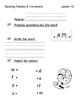 Reading Mastery K Signature Homework Lessons 41-60