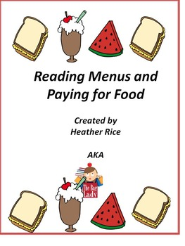 Reading Menus and Counting Change