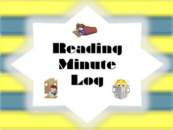 Reading Minute Log (teacher recording tool)