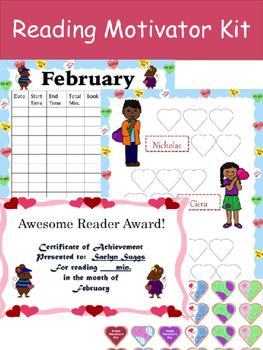 Reading Motivator Kit (February)