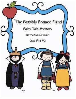 Reading Activity: Fairy Tale Mystery Case File #3 The Poss