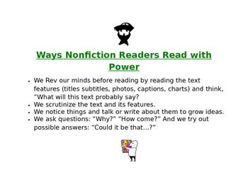 Reading Nonfiction Text