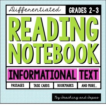 Reading Notebook (2nd-3rd Grade Informational Text)