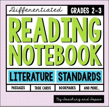 Reading Notebook (2nd-3rd Grade Literature)