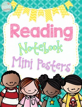 Reading Notebook Mini Posters
