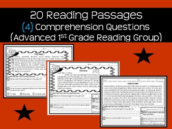 Reading Passages & Comprehension Questions (Advanced Readi