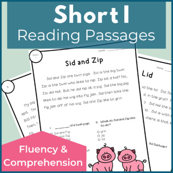 Reading Passages for Fluency and Comprehension Short I