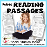 Paired Passages - Social Studies Topics