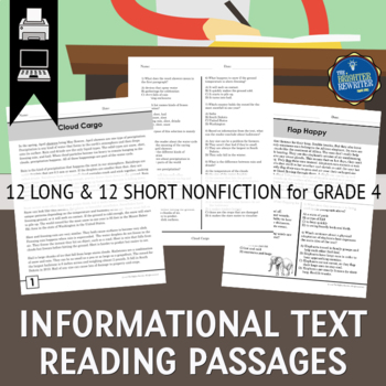 Reading Passages Grade 4