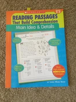 Reading Passages That Build Comprehension Main Idea and Details