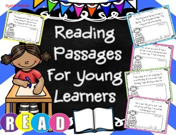 Reading Passages for Young Learners (Comprehension & Fluency)