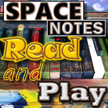 SPACE NOTES - Reading & Playing Treble Clef - Piano/Mallet