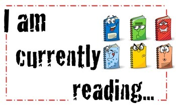 Reading Poster  - I am Currently Reading