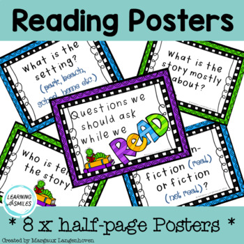 Reading Posters FREEBIE