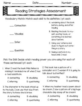 Reading Power Assessment