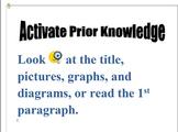 Reading Process Charts
